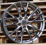 Alu kola Racing Line BK485, 19x8 5x114.3 ET35, černá metalíza