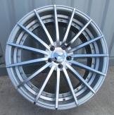 Alu kola Racing Line LU1020, 18x8.5 5x114.3 ET35, stříbrná + leštění