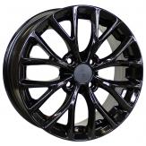 Alu kola Racing Line RS015, 15x6 4x100 ET50, černá lesklá