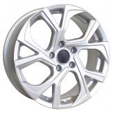 Alu kola Racing Line RS087, 17x6.5 5x114.3 ET35, stříbrná