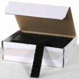 Samolepící závaží pro alu kola FE pozinkované černé 3mm , 12x5g, 50ks, váha 3kg