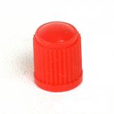 Ventilová čepička plastová červená vysoká