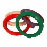 Vymezovací kroužky vněj. průměr 67,1 - 57,1 mm