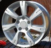 Alu kola Racing Line BK437, 16x7 5x108 ET40, stříbrná