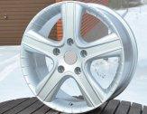 Alu kola Racing Line BY295, 17x7.5 5x130 ET50, stříbrná