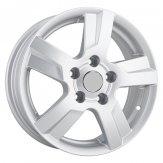 Alu kola Racing Line KI43, 15x5.5 5x114.3 ET41, stříbrná